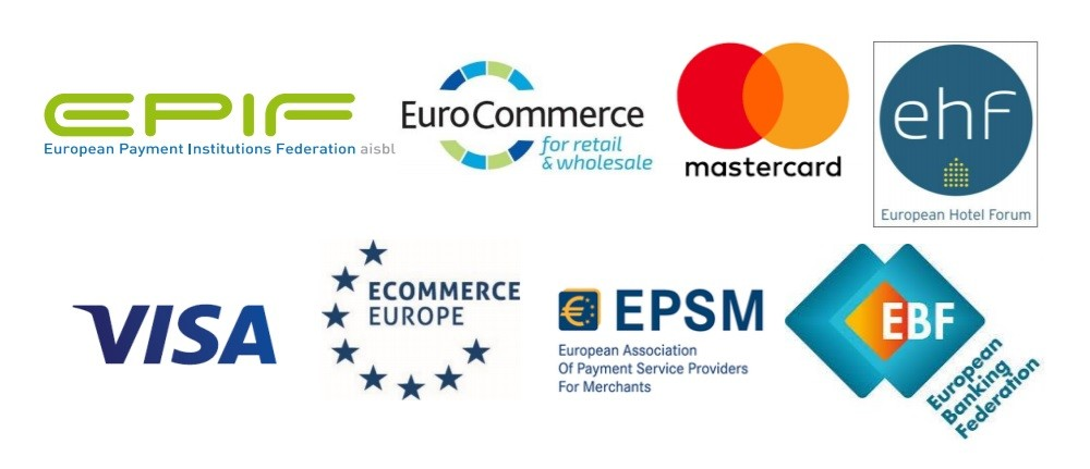 Nocashevents Joint industry letter on PSD2-SCA implementation for cards. European Banking Federation, Visa and Mastercard recommend EBA an additional timeframe of 18 months.