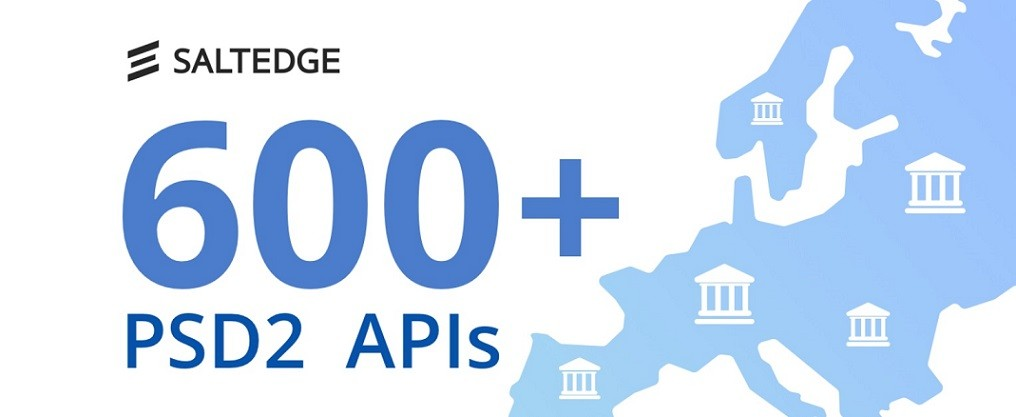 Nocashevents Salt Edge crosses the mark of 600+ integrated PSD2 APIs. The company is coming to Banking 4.0